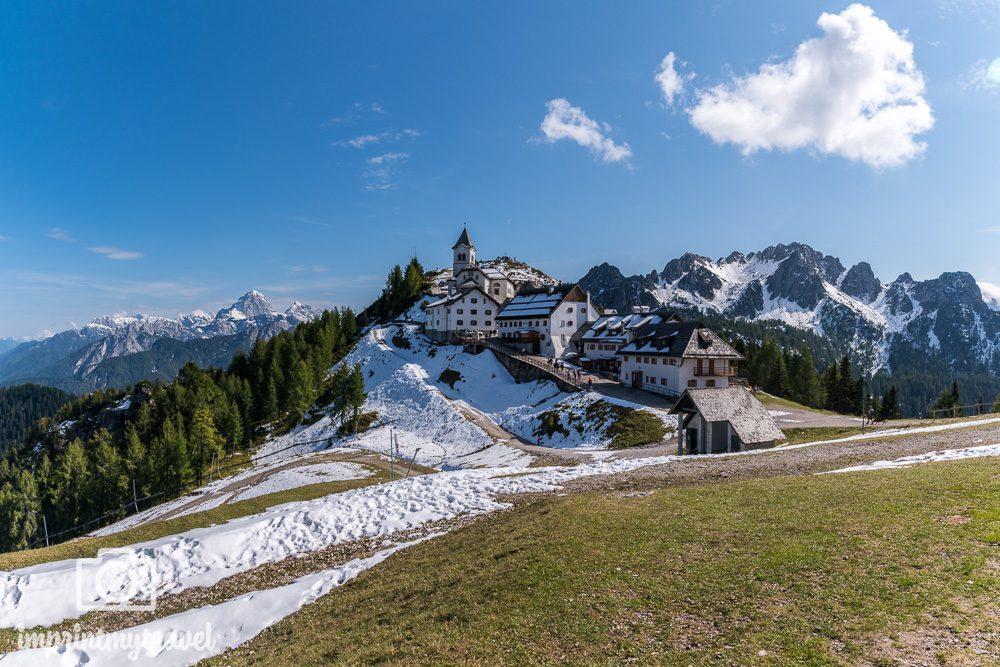 Ausflugsziele Dreiländereck Monte Lussari