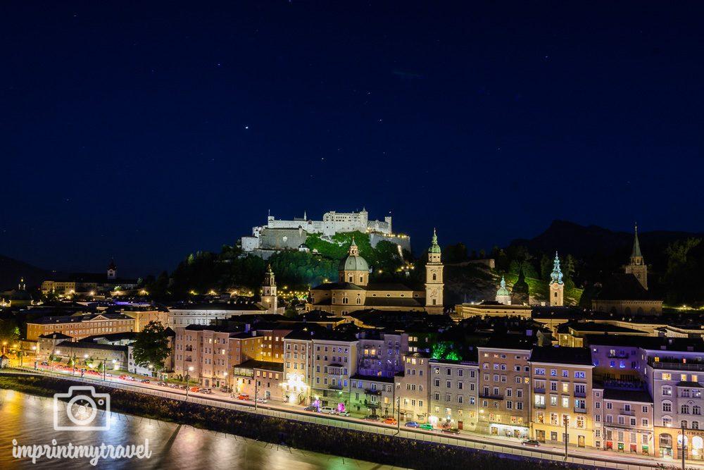 Salzburg Aussichtspunkt Kapuzinerberg