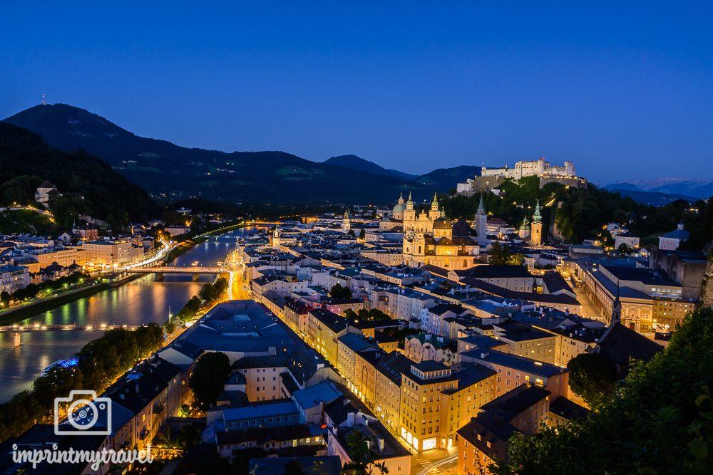 Aussichtspunkte in Salzburg Mönchsberg