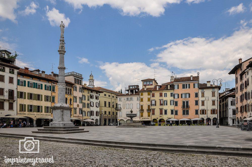 Ausflugsziel Udine Piazza Giacomo Matteotti