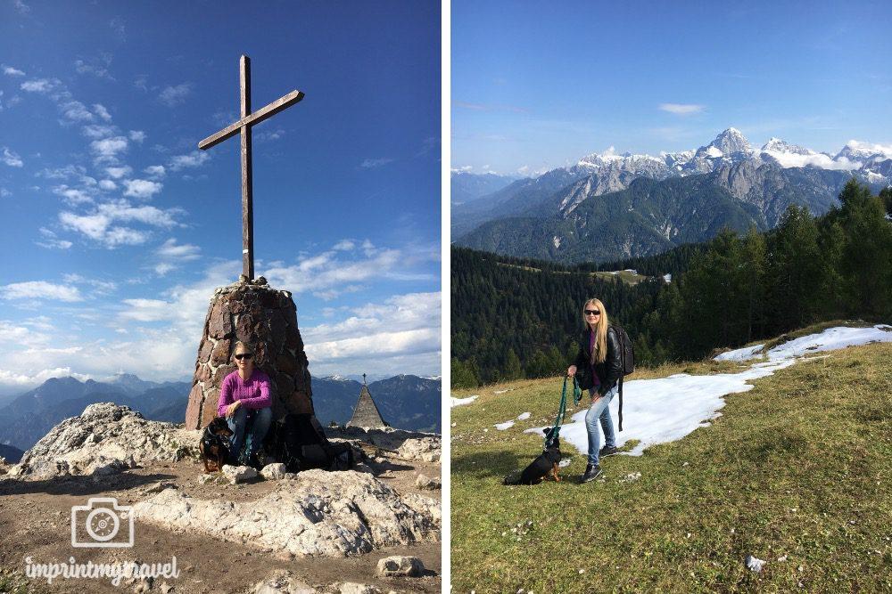 Monte Lussari Tarvis Italien Gipfel