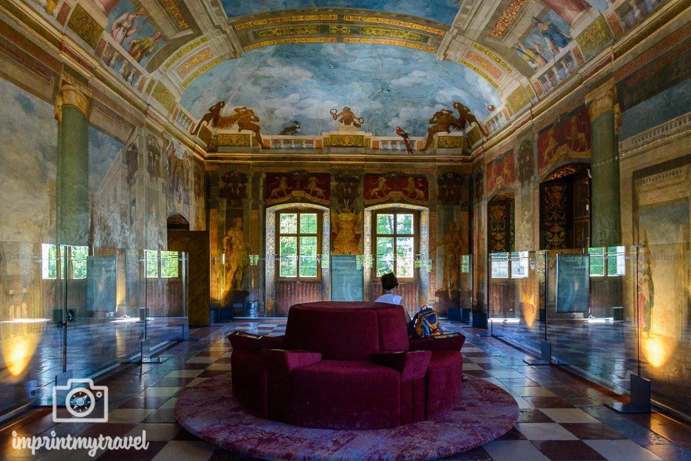 Salzburg Highlights Schloss Hellbrunn Prunkraum