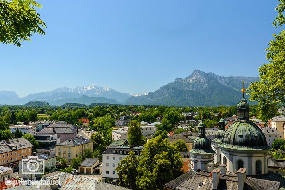 Aussichtspunkt Salzburg Nonnberg