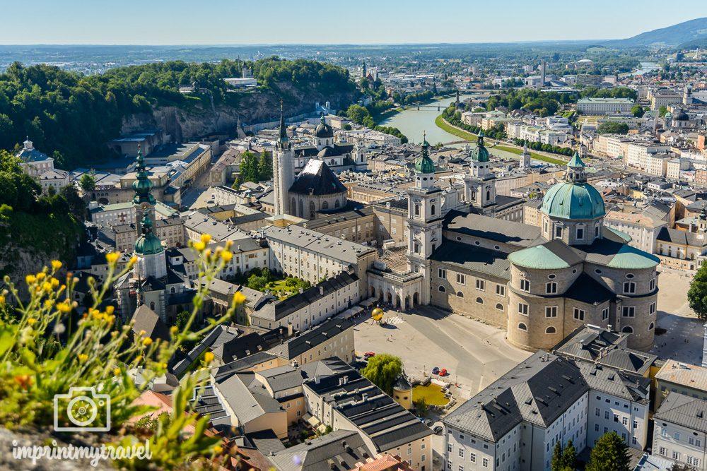 Aussichtsplattform Festung Hohensalzburg