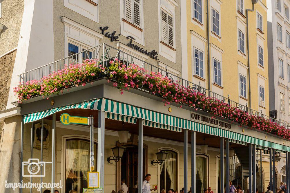 Kaffehaus Empfehlung Salzburg Tomaselli
