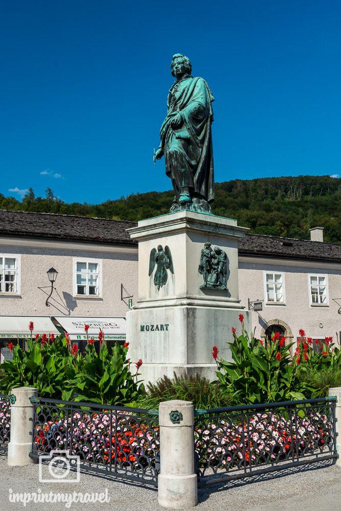 Salzburg Highlights Mozartdenkmal