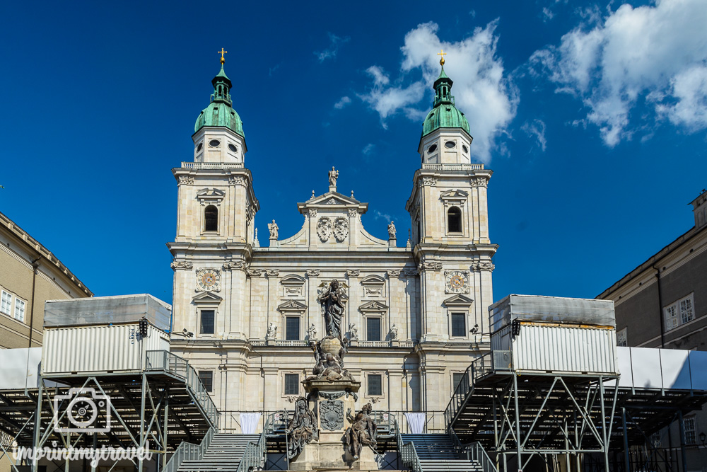 Salzburg Sehenswürdigkeiten Dom zu Salzburg