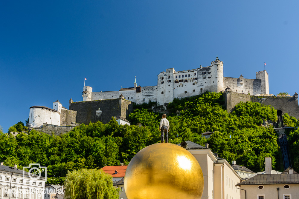 Salzburg Sehenswürdigkeiten Festung Hohensalzburg