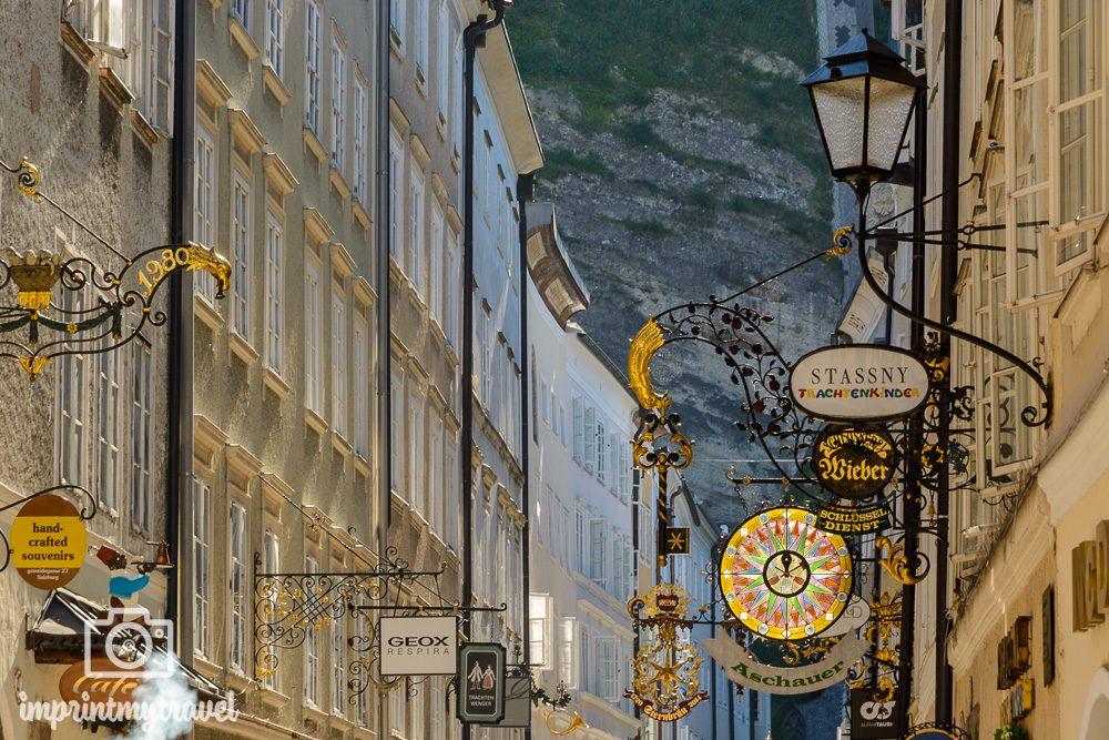 Salzburg Highlights Getreidegasse
