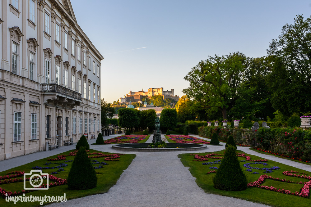 Salzburg Sehenswürdigkeiten Mirabellgarten