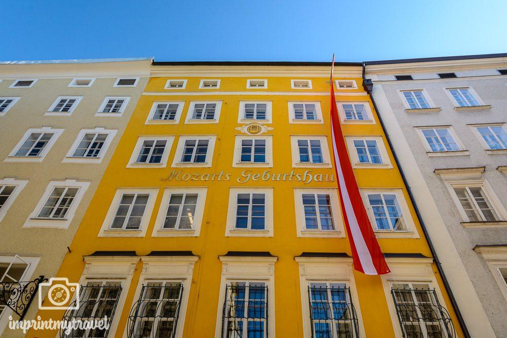 Salzburg Attraktionen Mozarts Geburtshaus
