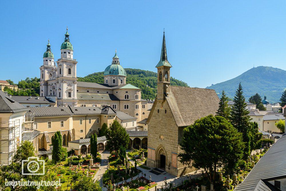 Salzburg Sehenswürdigkeiten Petersfriedhof