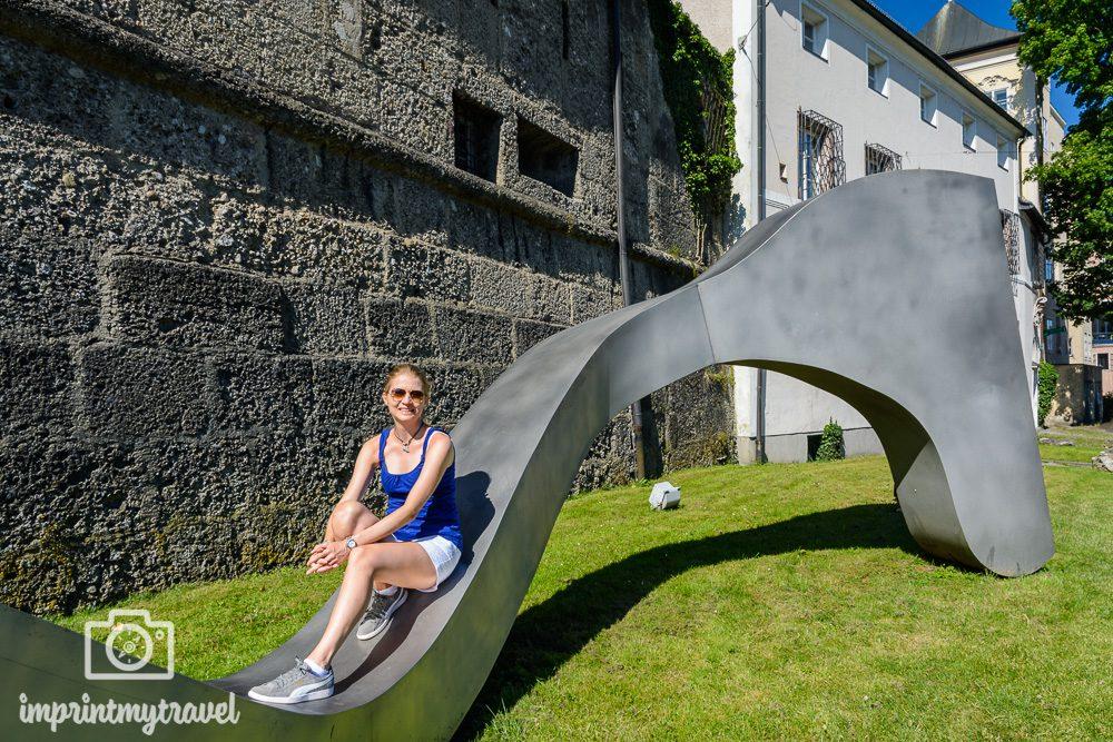 """Moderne Kunst in Salzburg: """"Connection"""" von Manfred Wakolbinger"""