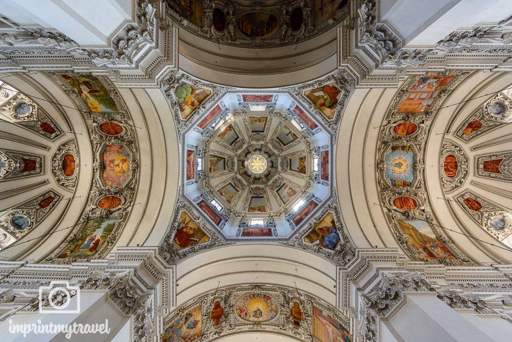 Kuppel des Dom zu Salzburg