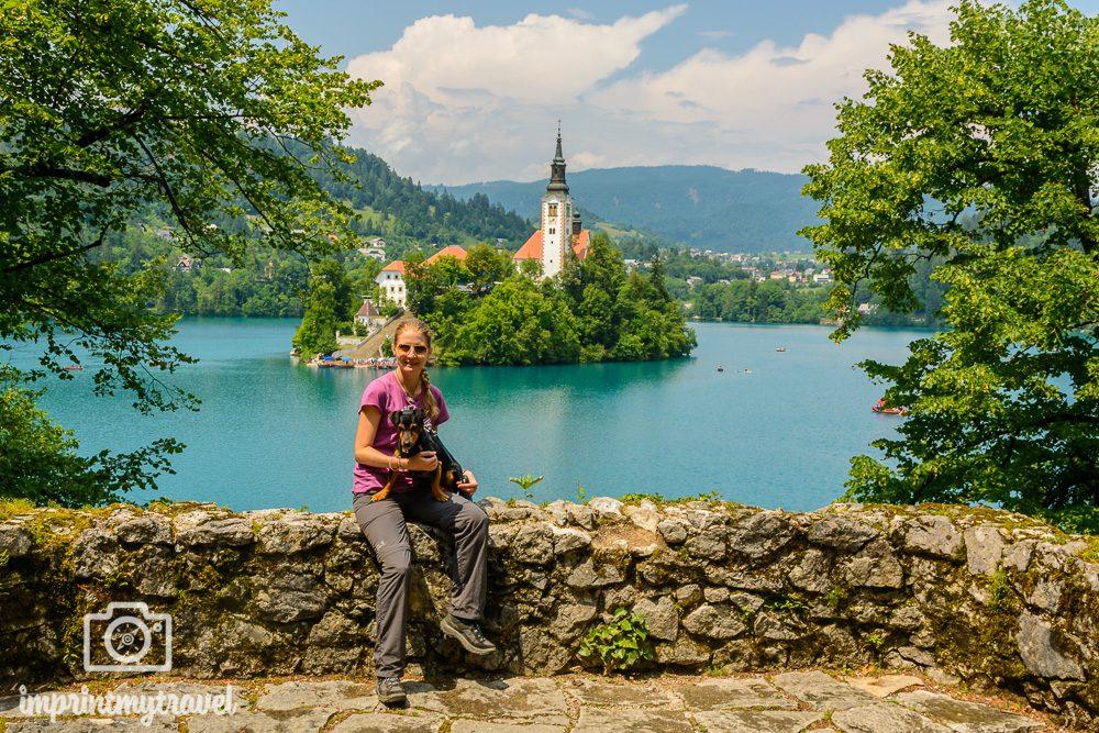 Bled Slowenien Aussichtspunkt