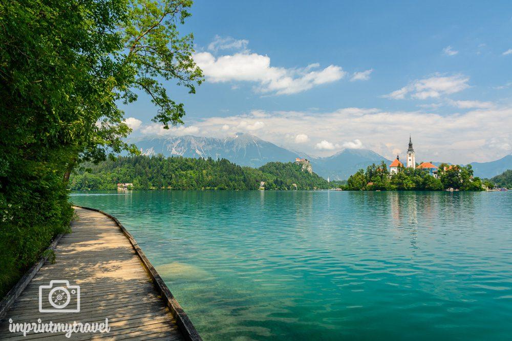 Rundweg Bled Slowenien