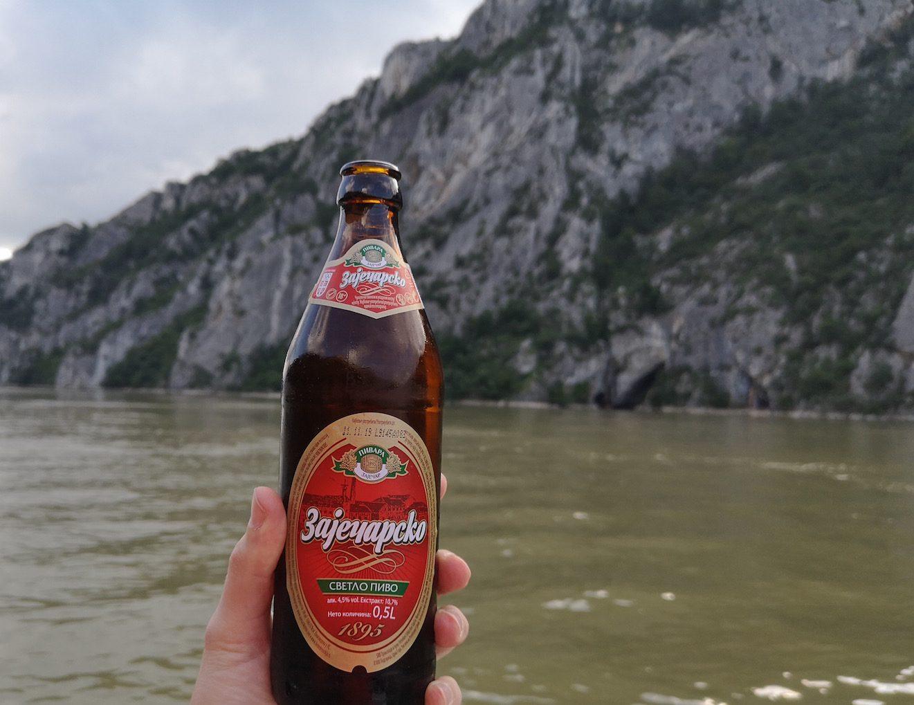 Radfahren in Serbien entlang der Donau und des EuroVelo 6