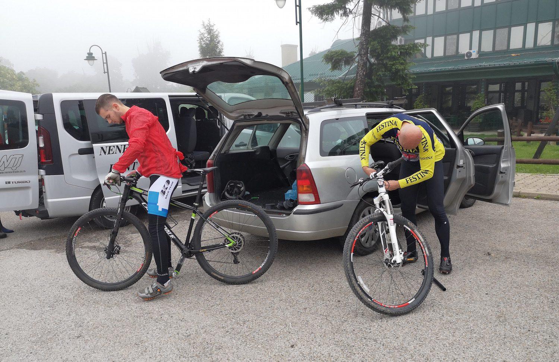 Radfahren in Serbien mit Fanatic Bike
