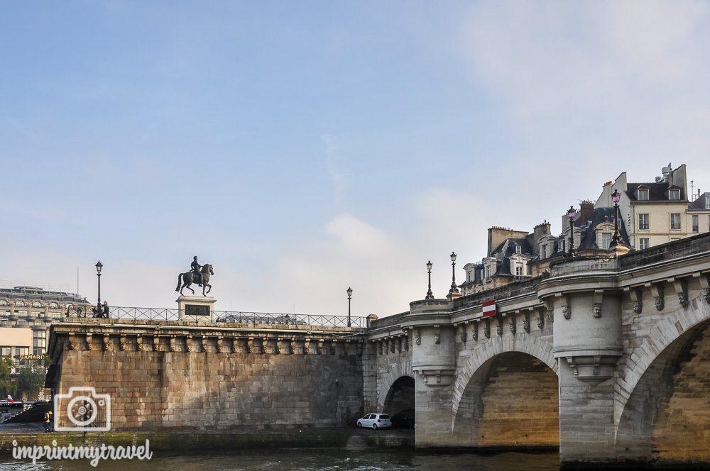 Paris Brücken Pont Neuf