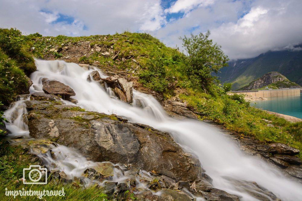 Kapruner Hochgebirgsstauseen Wasserfall