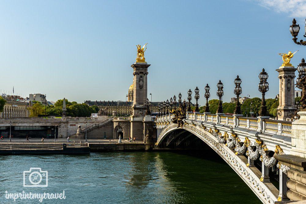 Paris Sehenswürdigkeiten Alexanderbrücke