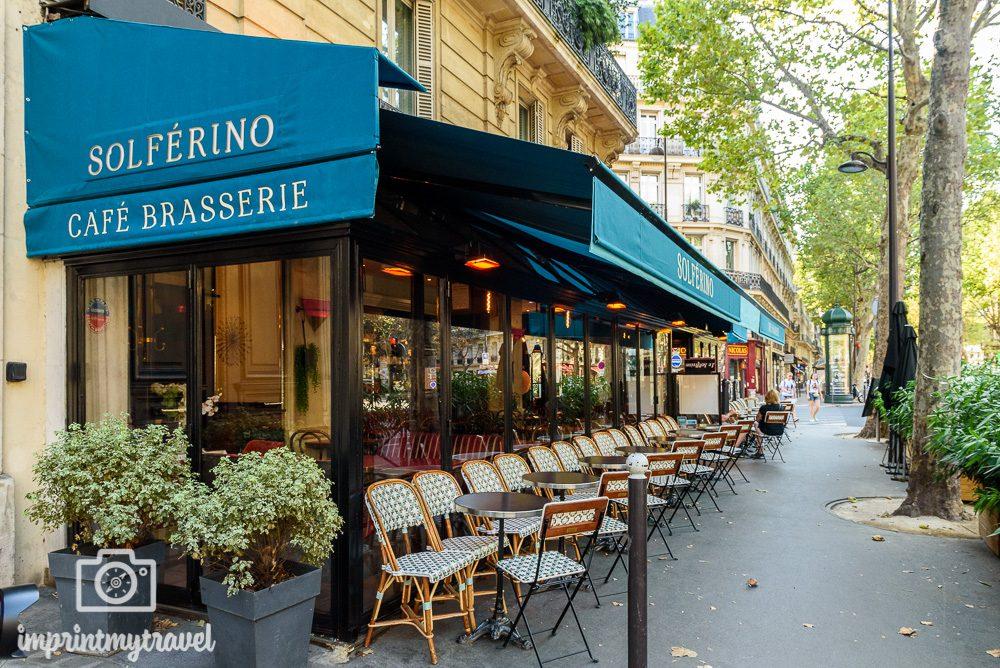 Paris Kaffehäuser Boulevard St. Germain