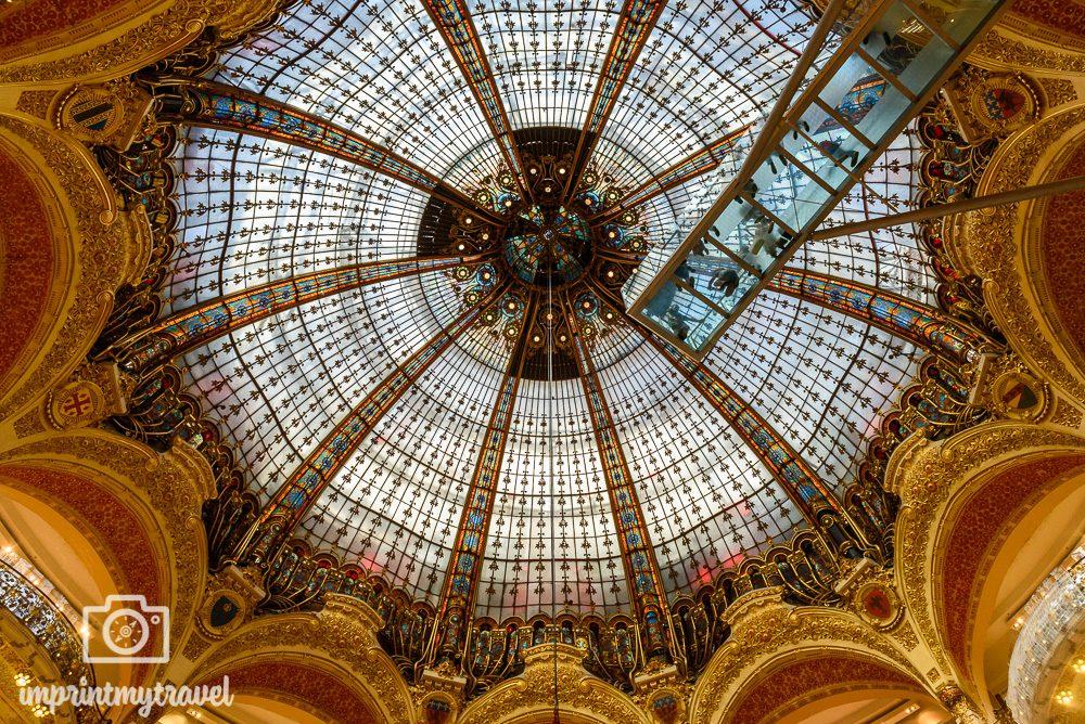 Paris Kaufhaus Lafayette
