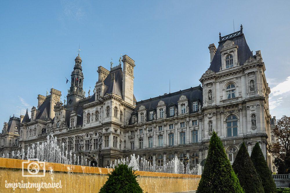 Paris Wahrzeichen Rathaus