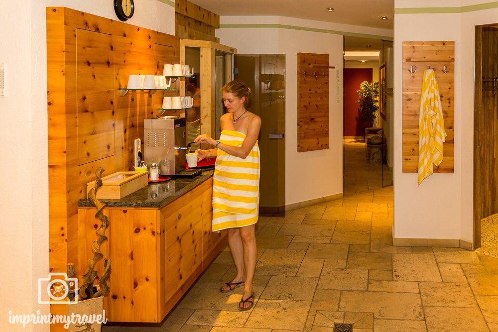 Wellnessbereich Hotel Gratz
