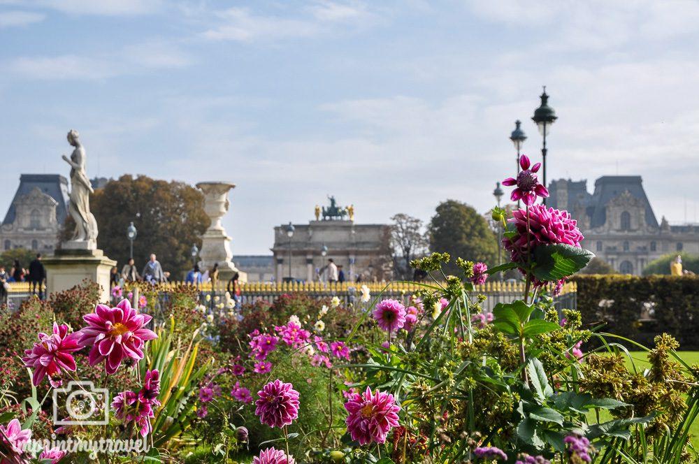 Paris Gärten Tuileriengarten