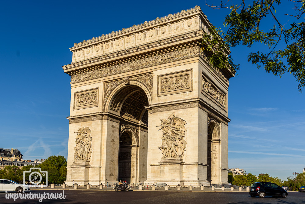 Sehenswürdigkeiten Paris Triumpfbogen