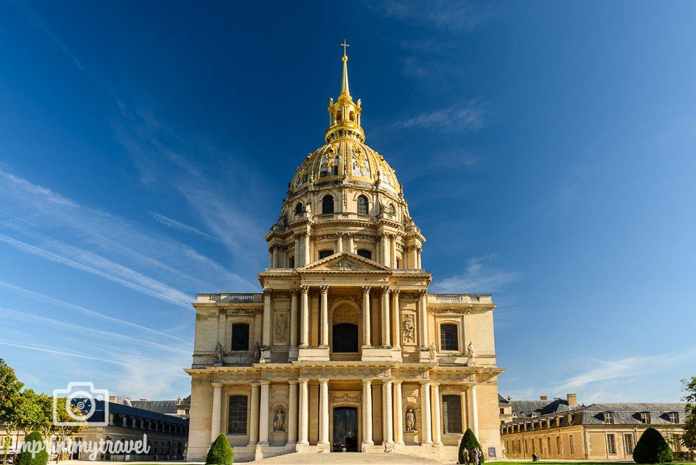 Paris Sehenswürdigkeiten Invalidendom