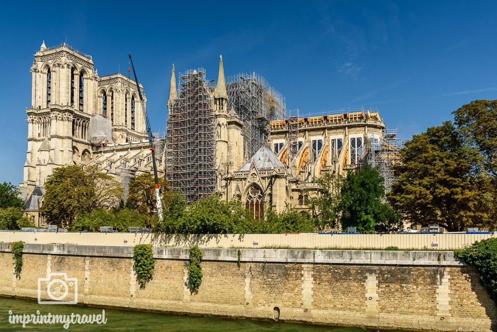 Paris Wahrzeichen Notre Dame