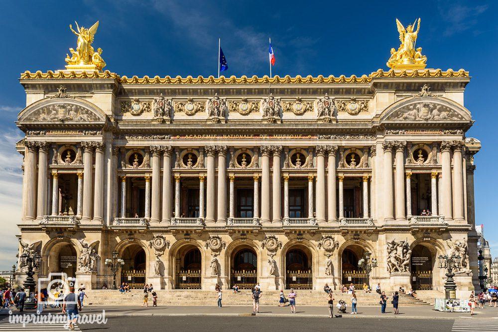 Paris Sehenswürdigkeiten Opera Garnier
