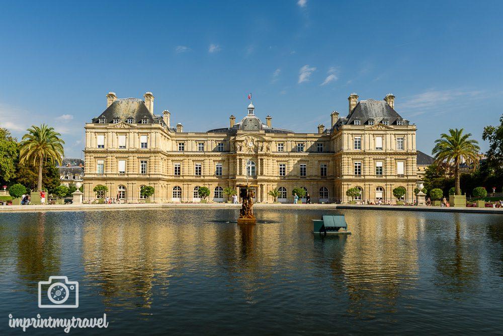 Paris Sehenswürdigkeiten Palais Luxembourg