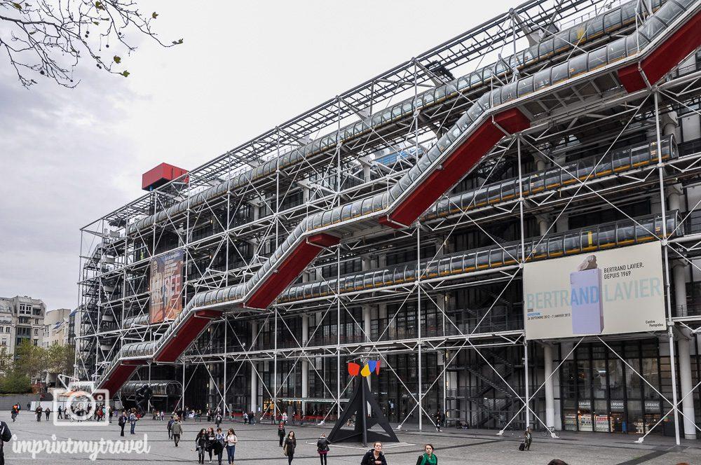 Paris Museum Centre Pompidou