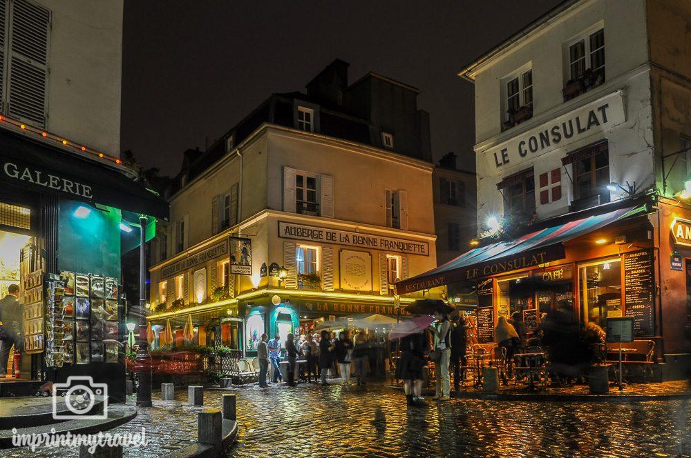 Paris Künstlerviertel Montmartre