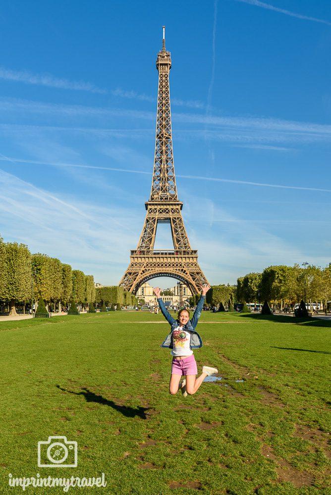 Paris Wahrzeichen Eiffelturm