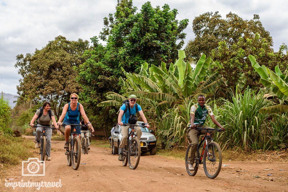 Fotoreise Tansania Fahrradtour