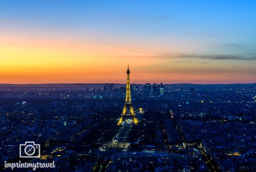 A-Rosa Flusskreuzfahrt Paris Sonnenuntergang