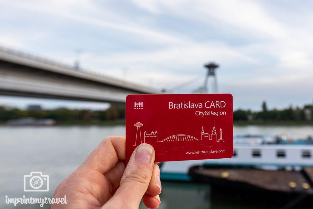 Bratislava Card Ermäßigungen
