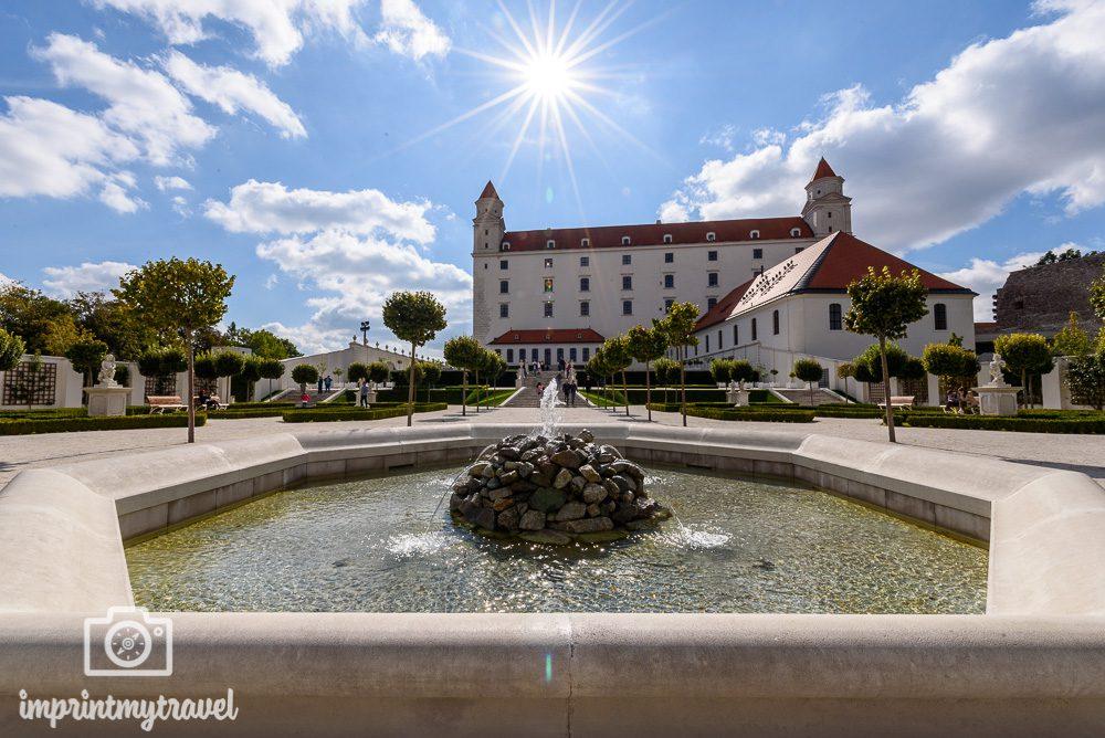 Bratislava Sehenswürdigkeiten Burg Bratislava