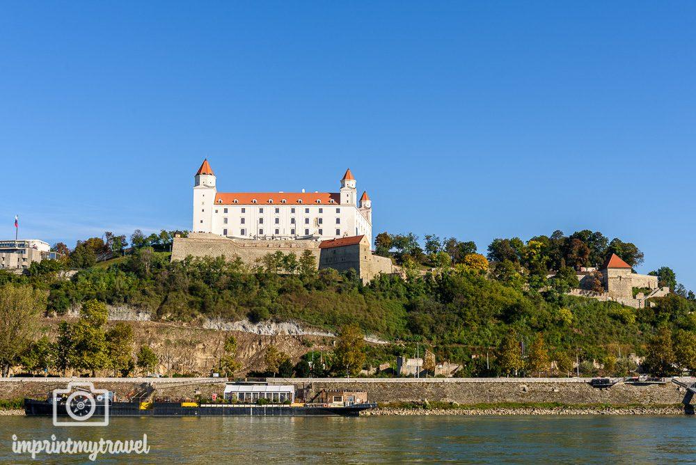 Bratislava Lage Donau