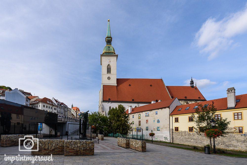 Bratislava Sehenswürdigkeiten Martinsdom