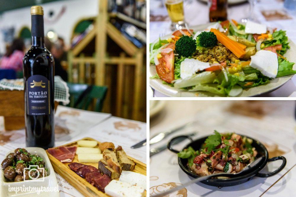 Portugal Alentejo Restaurant Tipps