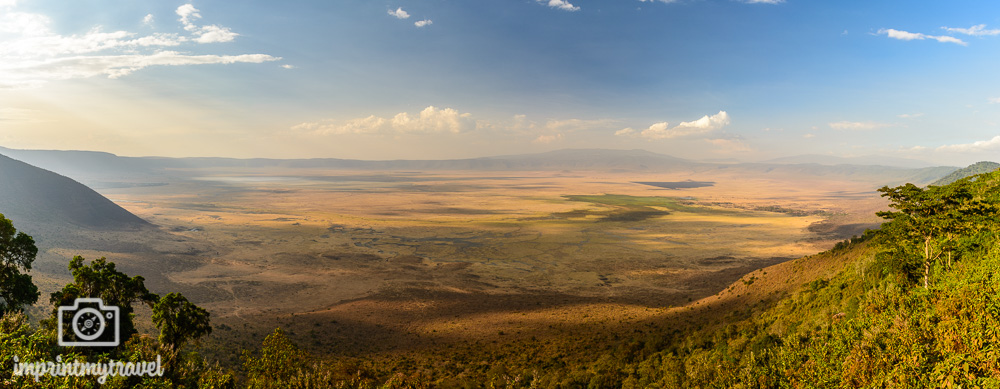 Ngorongoro Krater Conservation Area Panorama