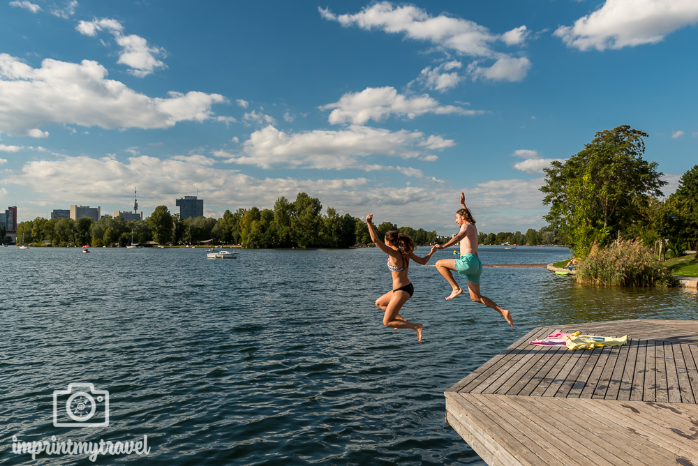 Ausflugstipps Wien Alte Donau