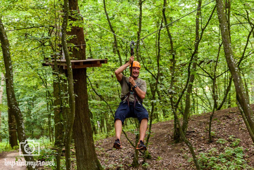 Ausflugsziele in Niederösterreich Ochys Waldseilpark
