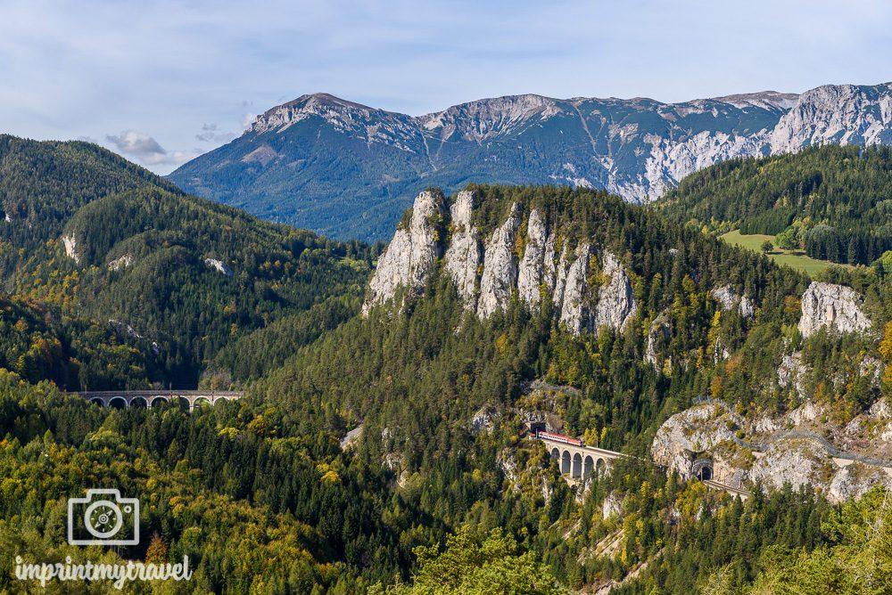 Ausflugsziele Niederösterreich Semmering Bahnwanderweg