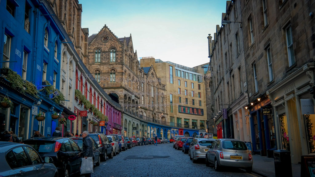 Schottland Roadtrip Edinburgh